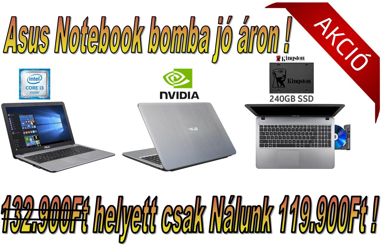 5c24a40fe373 Akciós Asus laptop ! - PcPro-Alba Számítástechnika